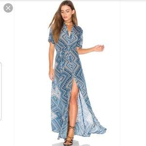 Tolani Amanda  maxi dress size Small
